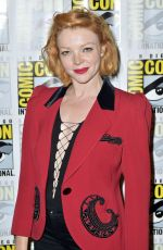 NICOLE LALIBERTE at Twin Peaks Photocall at Comic-con in San Diego 07/21/2018