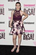 NICOLE MAINES at Entertainment Weekly Party at Comic-con in San Diego 07/21/2018