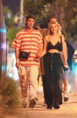 NICOLE PELTZ Out and About in West Hollywood 07/01/2018