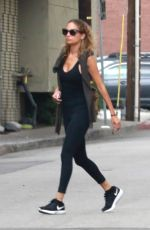 NICOLE RICHIE in Tights Heading to a Gym in Studio City 07/10/2018