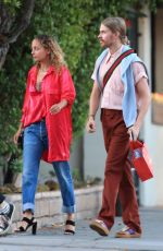 NICOLE RICHIE Leaves Matsuhisa Restaurant in Beverly Hills 07/17/2018