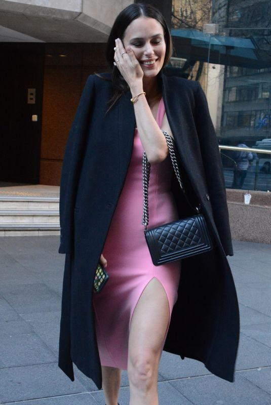 NICOLE TRUNFIO Leaves Morning Show in Sydney 07/16/2018