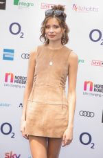 NINA NESBITT at O2 Silver Clef Awards in London 07/06/2018