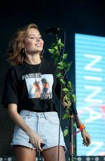 NINA NESBITT Performs at Wireless Festival in Finsbury Park in London 07/08/2018