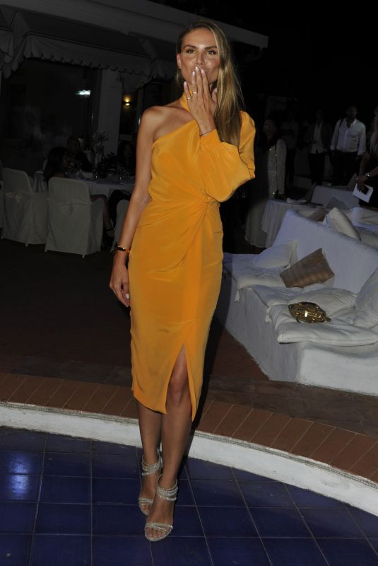 NINA SENICAR at Ischia Global Festival Andrea Boccelli Humanitarian Awards Gala Dinner 07/17/2018
