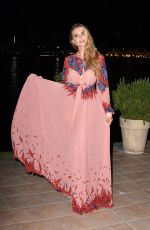 NINA SENICAR at Ischia Global Opening Dinner Gala at Hotel Regina Isabella 07/15/2018