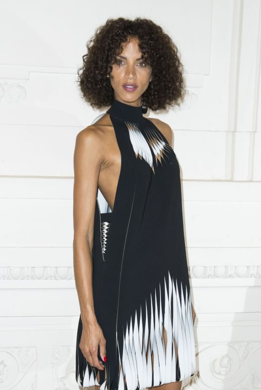 NOEMIE LENOIR at Jean-Paul Gaultier Show at Paris Fashion Week 07/04/2018