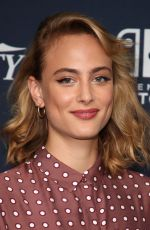 NORA ARNEZEDER at Variety Studio at Comic-con in San Diego 07/19/2018