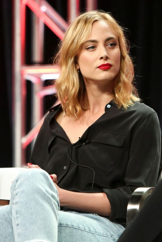 NORA ARNEZEDER at Youtube Premium Origin TV Show Panel at TCA Summer Tour in Los Angeles 07/27/2018