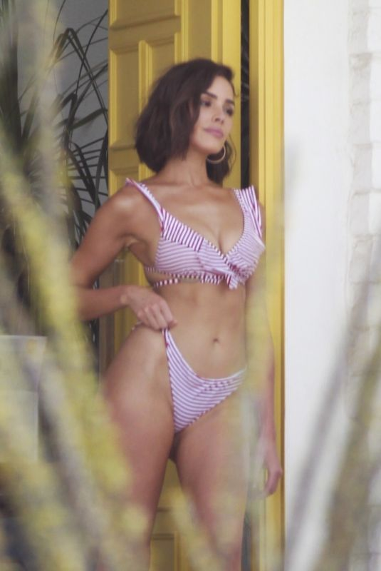 OLIVIA CULPO in Bikini on the Set of a Photoshoot in Palm Springs 07/08/2018