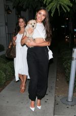 OLIVIA CULPO Out for Dinner in West Hollywood 07/28/2018