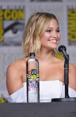 OLIVIA HOLT at Cloak & Dagger Panel at Comic-con International in San Diego 07/20/2018
