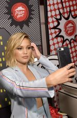 OLIVIA HOLT at Pizza Hut Lounge at Comic-con in San Diego 07/21/2018