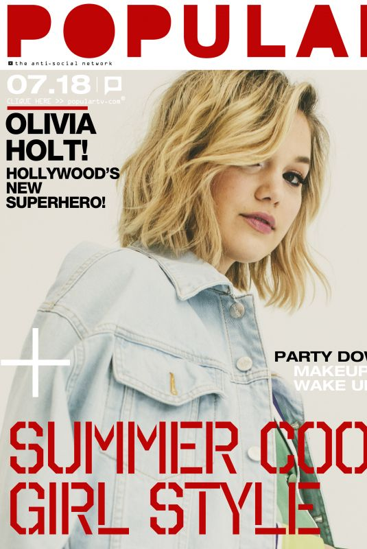 OLIVIA HOLT for Popular TV Magazine, July 2018