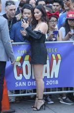 OLIVIA MUNN at Comic-con in San Diego 07/18/2018