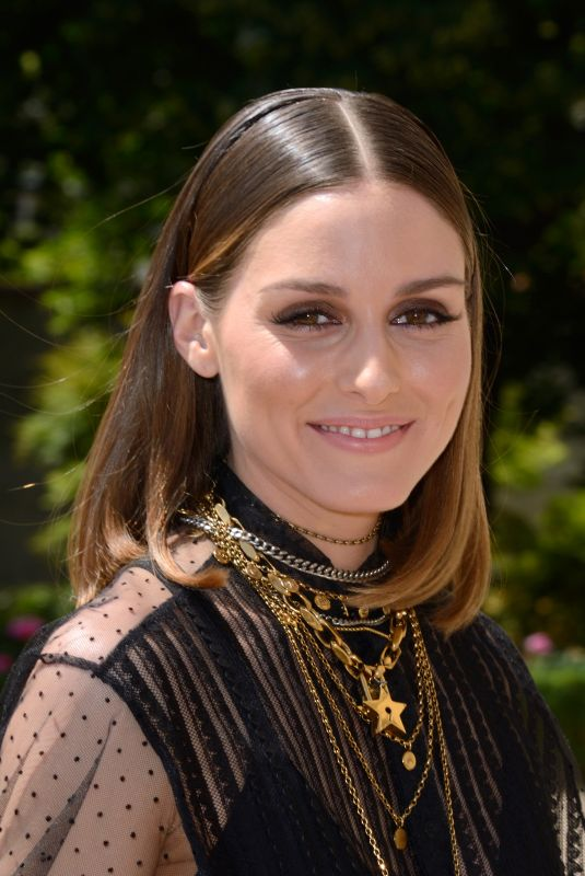 OLIVIA PALERMO at Dior Fall/Winter 2018/2019 Haute Couture Show in Paris 07/02/2018