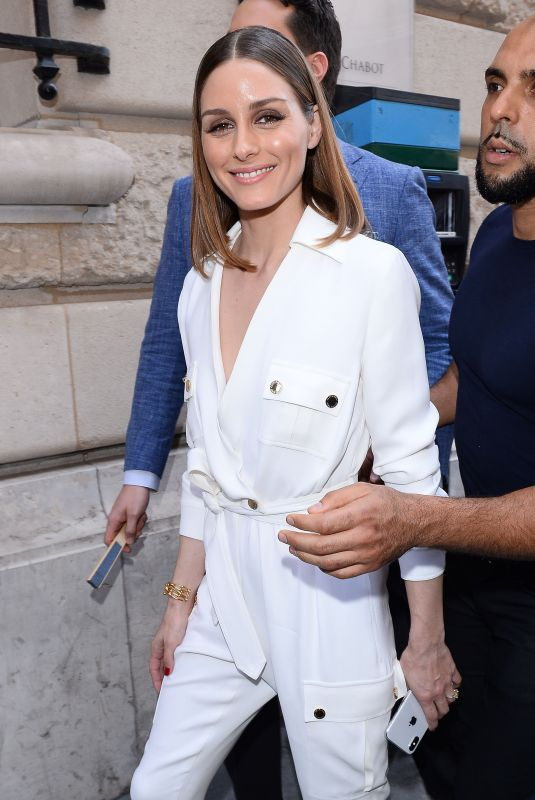 OLIVIA PALERMO at Ralph & Russo Fashion Show in Paris 07/02/2018