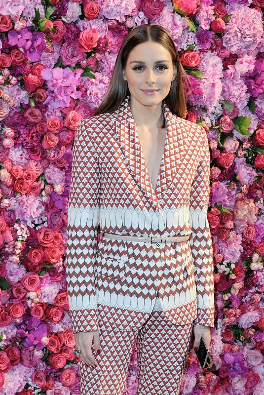 OLIVIA PALERMO at Schiaparelli Haute Couture Show at Paris Fashion Week 07/02/2018