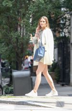 OLIVIA PALERMO Waiting for a Cab in New York 07/27/2018