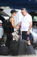 PARIS HILTON Arrives in Ibiza 07/01/2018