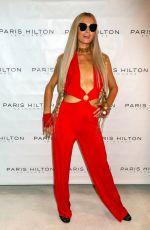 PARIS HILTON Promotes Her Skincare Line at Cosmoprof Show in Las Vegas 07/29/2018