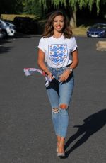 PASCAL CRAYMER Arrives at Sheesh Restaurant in Chigwell 07/03/2018