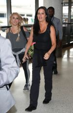 PATTI STANGER at Los Angeles International Airport 07/27/2018