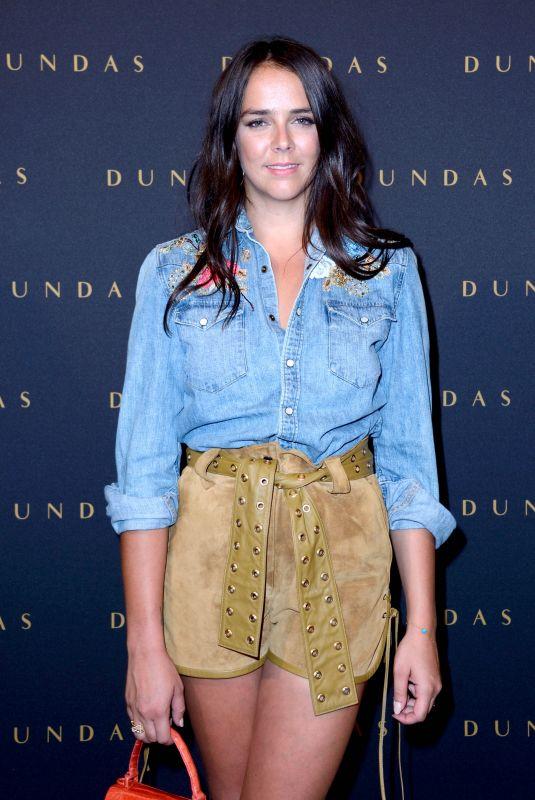 PAULINE DUCRUET at Dundas D5 Fashion Show at Paris Fashion Week 07/02/2018