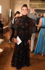 PAULINE DUCRUET at Valentino Show at 2018 Haute Couture Fashion Week in Paris 07/04/2018