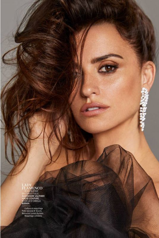 PENELOPE CRUZ in Madame Figaro, May 2018