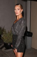 PETA MURGATROYD Leaves Catch LA in West Hollywood 07/27/2018