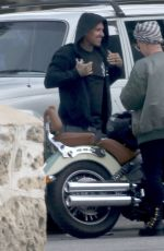 PINK Riding a Bike Out in Perth 06/30/2018