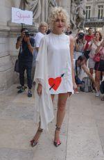 PIXIE LOTT at Schiaparelli Haute Couture Show at Paris Fashion Week 07/02/2018