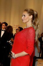 Pregnant ADRIANA KAREMBEU at 70th Monaco Red Cross Ball Gala 07/27/2018