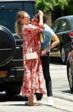 Pregnant HILARY DUFF and Matthew Koma Kissing in Studio City 07/12/2018