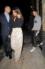 PRIYANKA CHOPRA at Chiltern Firehouse in London 07/17/2018