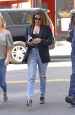 PRIYANKA CHOPRA in Jeans Arrives at JFK Airport in New York 07/12/2018