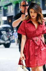 PRIYANKA CHOPRA Out and About in New York 07/03/2018