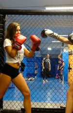 RACHAEL RHODES, CHANTELLE CONNELLY, IMOGEN TOWNLEY and JESS IMPIAZZI Boxing in Birmingham 07/12/2018