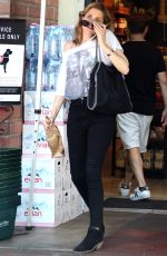 RACHAEL TAYLOR Leaves a Liquor Store in Hollywood 07/27/2018