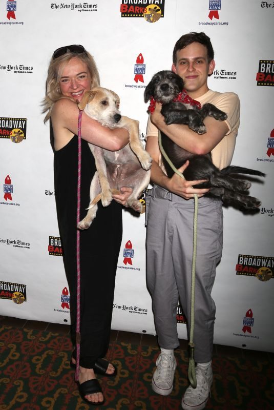 RACHEL BAY JONES at 20th Annual Broadway Barks Animal Adoption Event in New York 07/14/2018