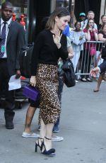 RACHEL BILSON Leave Good Morning America in New York 07/02/2018