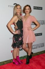 RAECHELLE and KARINA BANNO at Occupation Premiere at Ritz Cinema in Sydney 07/10/2018