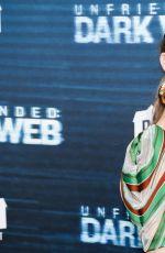 REBECCA RITTENHOUSE at Unfriended: Dark Web Premiere in Los Angeles 07/17/2018