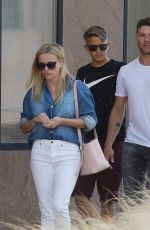 REESE WITHERSPOON and Ryan Philippe with Their Son Out in Los Angeles 07/19/2018