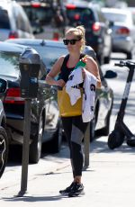 REESE WITHERSPOON Leaves a Gym in Los Angeles 07/02/2018