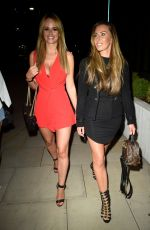 RHIAN SUDGEN at Menagerie Bar and Restaurant in Manchester 07/21/2018