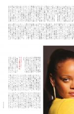 RIHANNA in Vogue Magazine, Japan August 2018