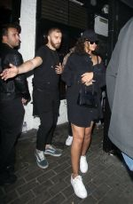 RIHANNA Leaves Scotch of St. James Night Club in London 06/29/2018