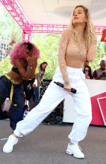 RITA ORA Performs at Flamingo Go Pool in Las Vegas 07/13/2018